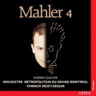 交響曲第4番 ネゼ=セガン&グラン・モントリオール・メトロポリタン管弦楽団、ゴーヴァン