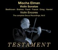 M.elman The Complete Decca Recordings Vol.2 ヴァイオリン・ソナタs