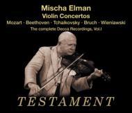 M.elman The Complete Decca Recordings Vol.1 ヴァイオリン協奏曲集