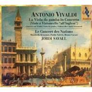 ヴィオラ・ダ・ガンバを含む協奏曲集 サバール&ル・コンセール・ド・ナシオン