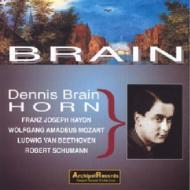 Horn Concerto.2, Piano Quintet / Horn Sonata, Etc: D.brain, Susskind / Po, Etc