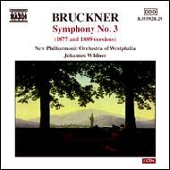 交響曲第3番(第2稿&第3稿) ヴィルトナー&ノイエ・フィルハーモニー・ヴェストファーレン(2CD)