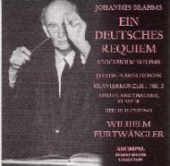Ein Deutsches Requiem: Furtwangler / Stockholm.po +piano Con.2: Aschbacher