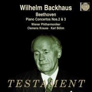 ピアノ協奏曲第2番、第3番 ヴィルヘルム・バックハウス、クレメンス・クラウス、カール・ベーム、ウィーン・フィル