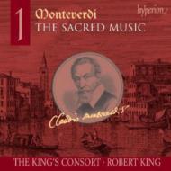 モンテヴェルディ:宗教作品全集 Vol.1/ロバート・キング(指揮)、キングズ・コンソート&同 合唱団