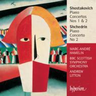 ピアノ協奏曲第1番、第2番、シチェドリン:ピアノ協奏曲第2番 アムラン(P)リットン指揮BBCスコティッシュ交響楽団