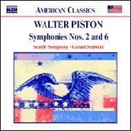 交響曲第2番/同第6番 シュウォーツ/シアトル交響楽団