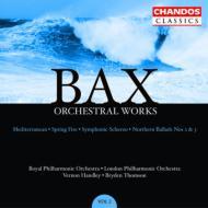バックス:管弦楽作品集 Vol.2交響曲『春の炎』 、 ノーザン・バラッド第2番、他/ ハンドリー(指揮)、ロイヤル・フィルハーモニック