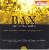 バックス:管弦楽作品集 Vol.1 ヴァイオリン協奏曲、 チェロ協奏曲、他/モルドコヴィッチ(vn) 、ウォルフィッシュ(vc)