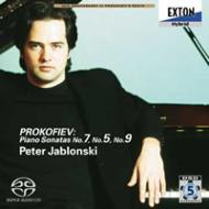 プロコフィエフ:ピアノソナタ第7番、5番、9番  ペーテル・ヤブロンスキ−(ピアノ)