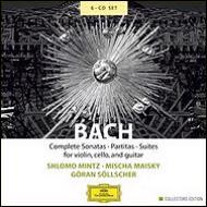 無伴奏チェロ組曲(マイスキー)、無伴奏ヴァイオリン・ソナタ&パルティータ(ミンツ) 、リュート作品集(セルシェル)