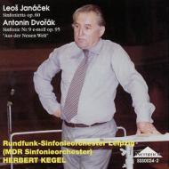 ドヴォルザーク:交響曲第9番『新世界より』、 ヤナーチェク:『シンフォニエッタ』 ケーゲル