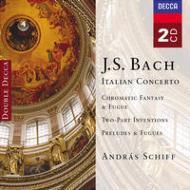 イタリア協奏曲、ほか A・シフ(p)(2CD)
