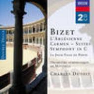 『カルメン』第1、2組曲、『アルルの女』第1、2組曲、交響曲ハ長調、他 シャルル・デュトワ&モントリオール交響楽団(2CD)