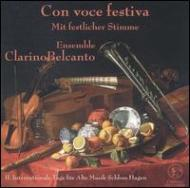 Music At Secular & Ecclesiastical Courts Of The Baroque: Ens.clarino Belc