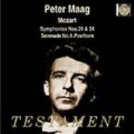 交響曲29番、第34番、セレナード第9番 ペーター・マーク&スイス・ロマンド管弦楽団