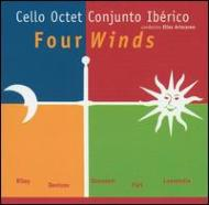 Cello Octet Conjunto Iberico Four Wind-t.riley, Denisov, Part, Etc