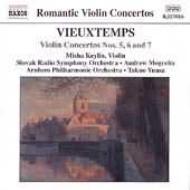 ヴァイオリン協奏曲第5番/第6番/第7番 カイリン/湯浅/アルンヘム・フィル/モグレリア/スロヴァキア放送交響