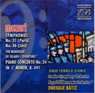 Sym.31, 36, Piano Concerto.24, Etc: Batiz / Lso, Osorio(P), Etc