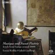 音楽と甘美な詩〜1600年頃の歌とリュート独奏曲 カークビー(S)J.リンドベルイ(lute)