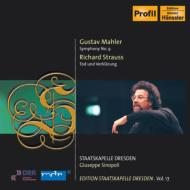 マーラー:交響曲第9番、R・シュトラウス:『死と変容』 シノーポリ&シュターツカペレ・ドレスデン