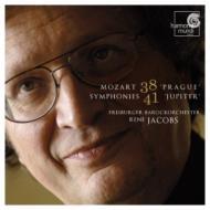 交響曲第41番『ジュピター』、交響曲第38番『プラハ』 ヤーコプス&フライブルク・バロック管弦楽団