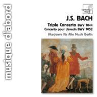 三重協奏曲、他 ベルリン古楽アカデミー