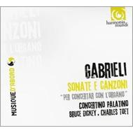 オルガンを含む合奏によるソナタとカンツォーナ集 コンチェルト・パラティーノ