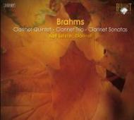 クラリネットのための室内楽作品全集 ライスター(cl)ブランディス四重奏団、ボークナー(p)