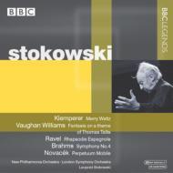 ブラームス:交響曲第4番、ヴォーン・ウィリアムズ:タリス幻想曲、他 ストコフスキー