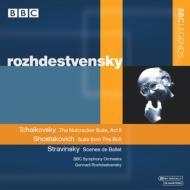 チャイコフスキー:『くるみ割り人形』より、ショスタコーヴィチ:バレエ『ボルト』より、他 ロジェストヴェンスキー&BBC響(ステレオ)