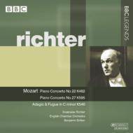 ピアノ協奏曲第22番、第27番、他 リヒテル、ブリテン&イギリス室内管