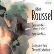 交響曲第1、4番 エッシェンバッハ&パリ管弦楽団