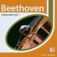 Cello Sonata.1, 2, 4: 堤剛(Vc)Turini(P)