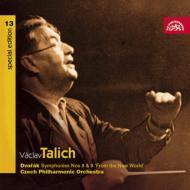 交響曲第8番、第9番『新世界より』 ターリヒ&チェコ・フィル