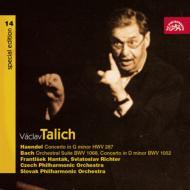 ピアノ協奏曲第1番、管弦楽組曲第3番、他 リヒテル(p)ターリヒ&チェコ・フィル、他