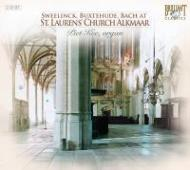 アルクマール、聖ローレンス教会のオルガンによるスウェーリンク、ブクステフーデ、バッハ P.キー(org)(2CD)