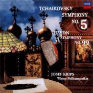 チャイコフスキー:交響曲第5番、ハイドン:交響曲第99番 ヨーゼフ・クリップス