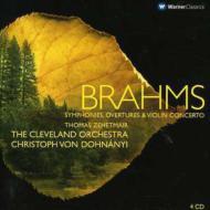 交響曲全集、他 ドホナーニ&クリーヴランド管弦楽団(4CD)