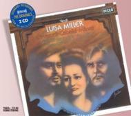 歌劇『ルイーザ・ミラー』全曲 パヴァロッティ、カバリエ、マーク&ナショナル・フィル(2CD)