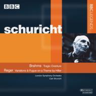 レーガー:ヒラー変奏曲、ブラームス:悲劇的序曲 シューリヒト&LSO、ベートーヴェン:大フーガ ボールト&NPO(ステレオ)