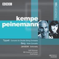 ベルク:ヴァイオリン協奏曲、ヤナーチェク:シンフォニエッタ、ティペット:二重協奏曲 ケンペ&BBC響、パイネマン(ステレオ)