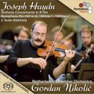 協奏交響曲、交響曲第100番『軍隊』、他 ニコリク&オランダ室内管弦楽団