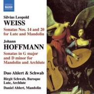 ヴァイス (1686-1750)/Lute Sonata.14 20: Ahlert & Schwab Duo +j.hoffmann