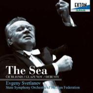 スヴェトラーノフ/『海』(チュルリョーニス、グラズノフ、ドビュッシー) スヴェトラーノフ&ロシア国立交響楽団