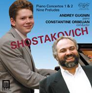 ピアノ協奏曲第1番、第2番 ググニン(p)オーベリアン&モスクワ室内管弦楽団