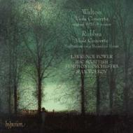 ヴィオラ協奏曲(原典版)、他 パワー(va)ヴォルコフ&BBCスコティッシュ交響楽団