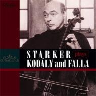無伴奏チェロ・ソナタ(2種の録音:1948年、1950年)、他 シュタルケル(vc)