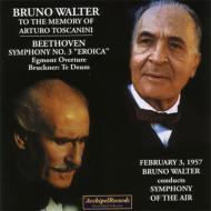 交響曲第3番『英雄』、他 ワルター&シンフォニー・オブ・ジ・エア、他