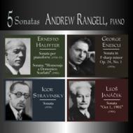 5つのピアノ・ソナタ(E.ハルフテル、ストラヴィンスキー、ヤナーチェク、他) ランゲル(p)